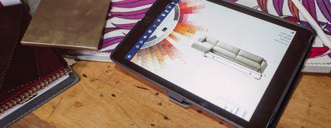 tablet interior design